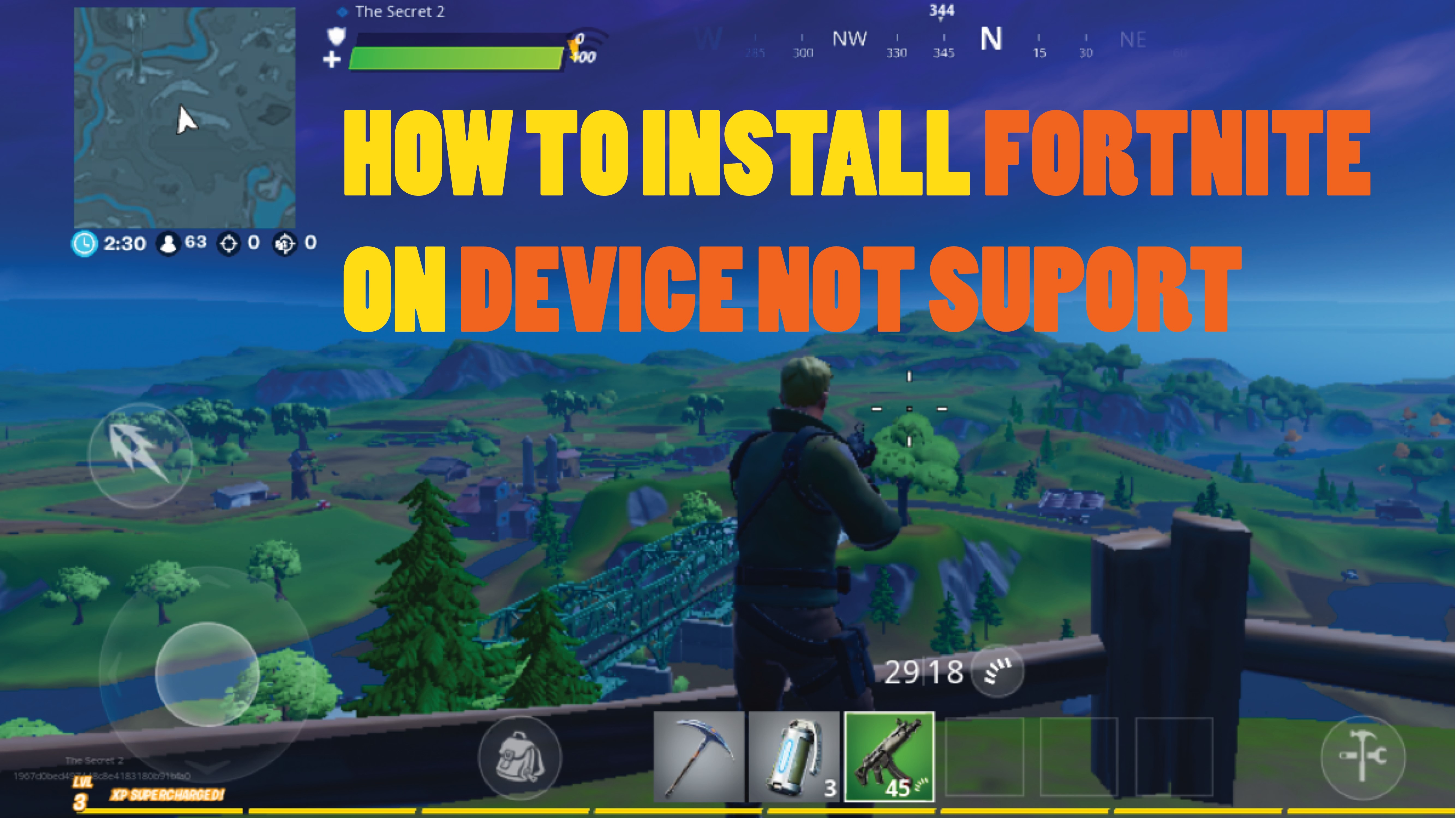 How To Install Fortnite On Incompatible Devices How To Install Fortnite On Android Device Not Suport Gsm Full Info