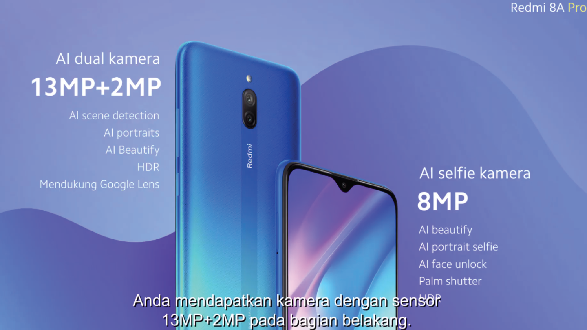Xiaomi Redmi 8A Pro Specifications