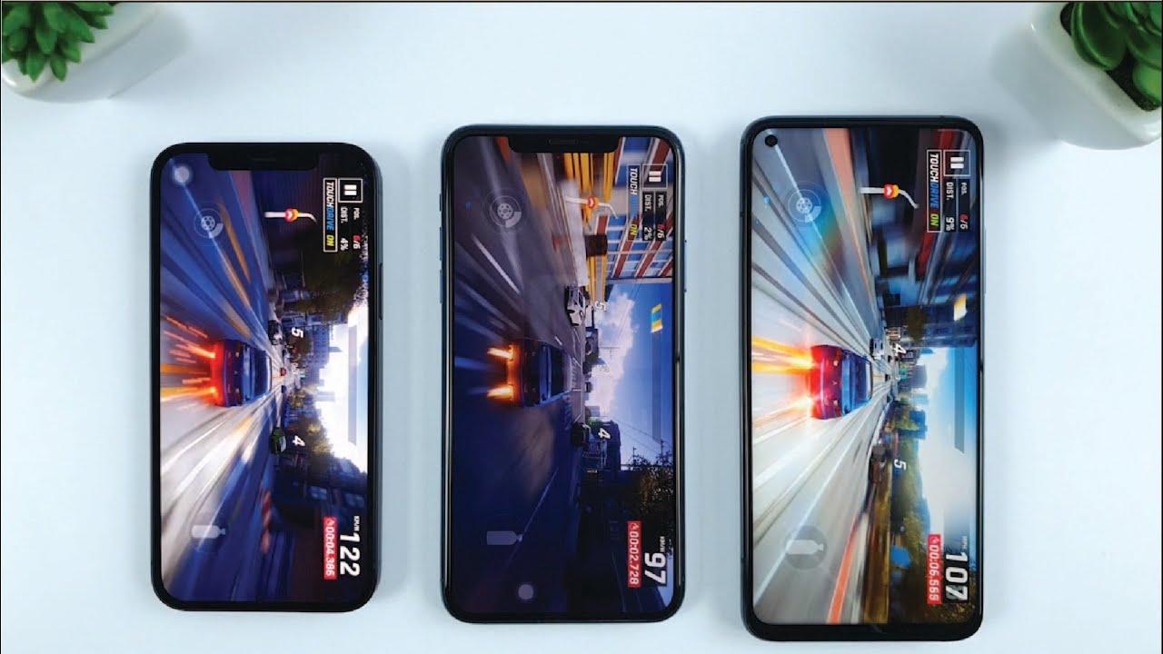 Xiaomi Mi 10T Pro vs iPhone 11 Pro Max vs iPhone 12 ...