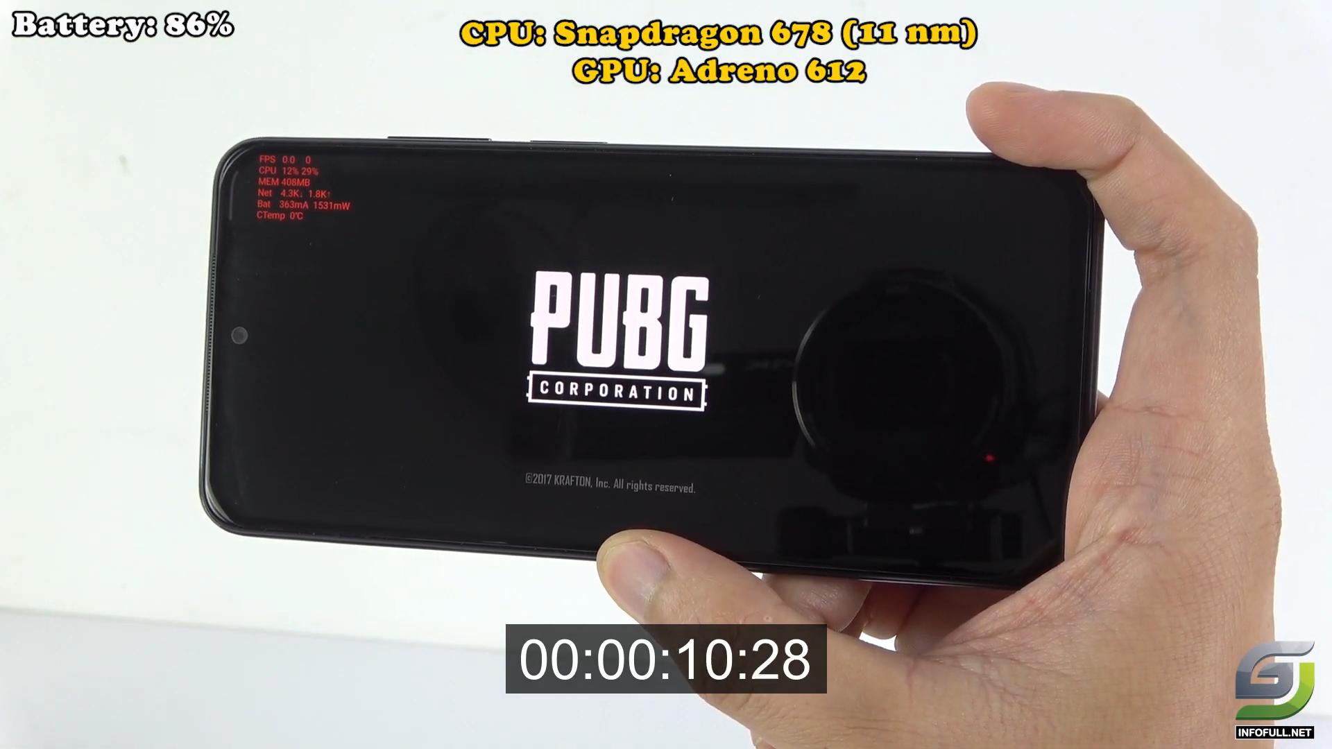 Redmi Note 10 test game PUBG Mobile New Update
